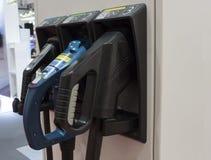 Station de charge pour les voitures électriques Photo libre de droits
