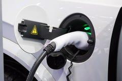 Station de charge de véhicule électrique images libres de droits
