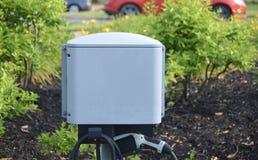Station de charge de véhicule électrique Image libre de droits