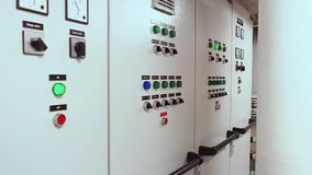Station de commande de moteur de traction subite marine banque de vidéos