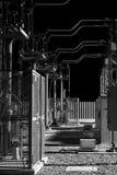 Station de compagnie d'électricité, nuit au travail Photographie stock