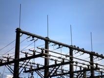 Station de courant électrique Images libres de droits