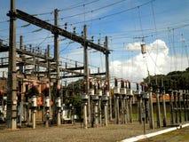 Station de courant électrique Image libre de droits