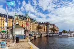 Station de ferry de Nybroplan Photographie stock