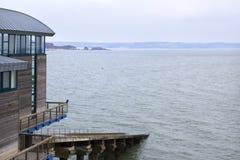 Station de garde-côte, Tenby, Pembrokeshire, Pays de Galles, R-U photos libres de droits