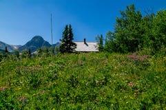 Station de garde forestière de Cutbank image libre de droits