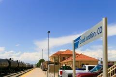 Station de Grand Junction Images libres de droits