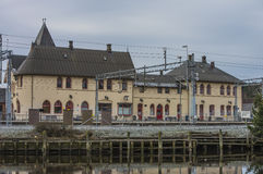Station de Halden Photographie stock libre de droits