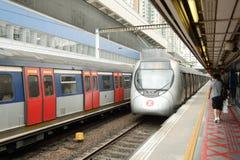 Station de Hong Kong MTR image libre de droits
