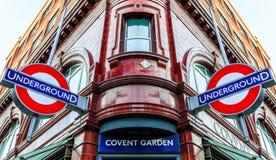 Station de jardin de Covent Images libres de droits