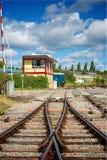 Station de jonction de Lydney Gloucestershire R-U images stock