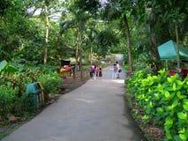 Station de Kalesa, La Mesa Ecopark, Quezon City, Philippines photographie stock libre de droits