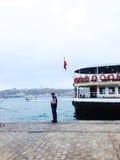 Station de Karakoy à Istanbul Image stock