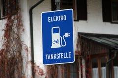 Station de l'électricité Image stock
