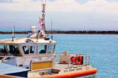 Station de la garde côtière Maui Hawaï Photos stock