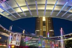 Station de la ville haute à la ville Dallas images stock