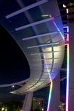 Station de la ville haute gentille aux scènes de nuit de Dallas photo stock