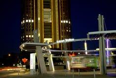 Station de la ville haute la nuit photos libres de droits