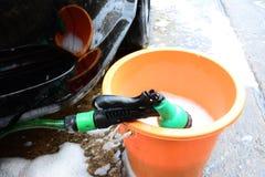 Station de lavage. Photo stock