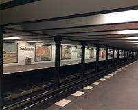 Station de métro à Berlin Image libre de droits
