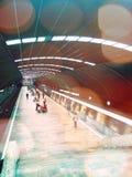 Station de métro à Bucarest Image libre de droits