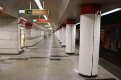 Station de métro à Budapest Photographie stock libre de droits