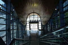 Station de métro à Dubaï Photos stock
