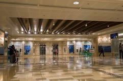 Station de métro à Dubaï photos libres de droits