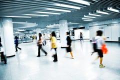 Station de métro Photo libre de droits