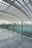 Station de métro, aéroport international capital de Pékin Photos stock