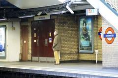 Station de métro Bayswater de Londres Photographie stock libre de droits