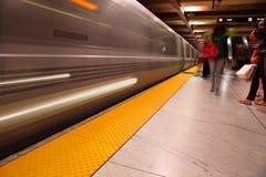 Station de métro d'Embarcadero photographie stock