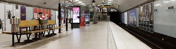 Station de métro d'Odenplan images stock