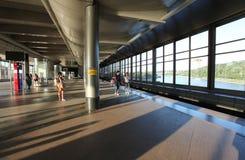 Station de métro de collines de moineau, Moscou Images libres de droits