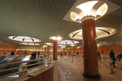 Station de métro de Moscou Photo stock