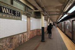 Station de métro de New York photographie stock