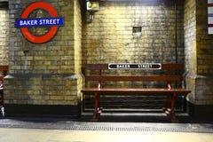 Station de métro de rue de Baker, Londres Photo libre de droits