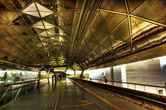 Station de métro de Singapour Photos stock