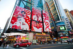Station de métro de Times Square Images stock