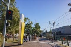 Station de métro du sud de Pasadena photographie stock libre de droits