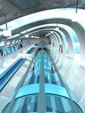 Station de métro futuriste Photographie stock