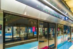 Station de métro intérieure image libre de droits