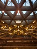 Station de métro intérieure Images stock