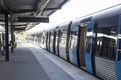 Station de métro suédoise Image stock