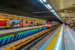 Station de métro de Téhéran Ferdowsi 02 images stock