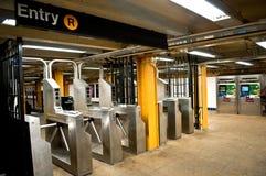 Station de métro vide Image stock