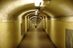 Tube de station de métro Image libre de droits