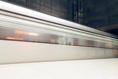 Station de métro de ville de Bilbao Station de Sarriko Image stock