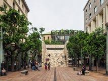 Station de Montenapoleone à Milan Photo libre de droits