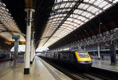Station de Paddington, Londres, Angleterre Photographie stock libre de droits